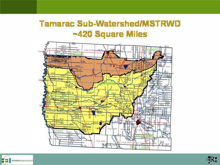Tamarac subwatershed